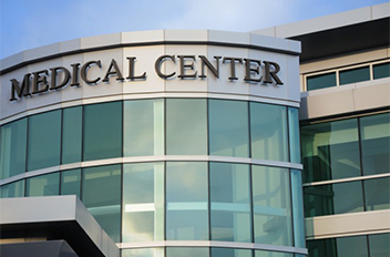 Medical center cleaning services
